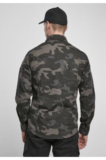 terepmintás divatos férfi ing