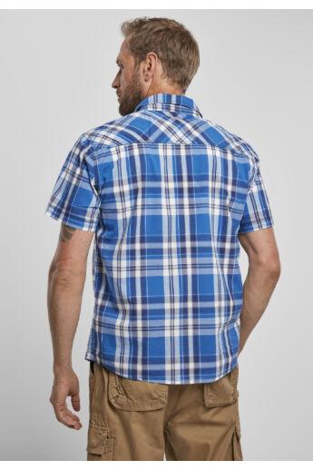 Klasszikus kék kockás férfi ing