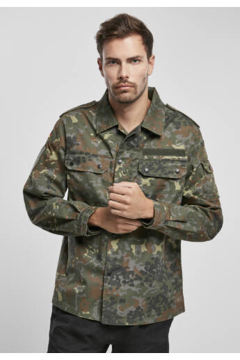 divatos férfi ing, katonai ing,