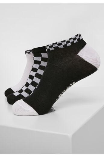 Fekete-fehér 3 db-os zokni szett