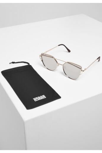 Arany színű divatos napszemüveg