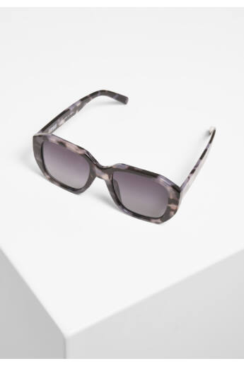 Szürke mintás keretes szögletes napszemüveg