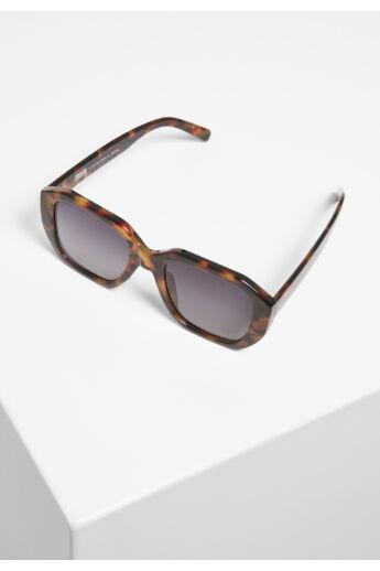 Barna mintás keretes szögletes napszemüveg