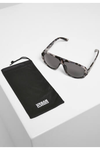 Szögletes szürke mintás keretes napszemüveg