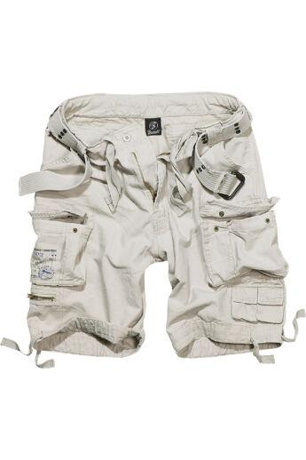 Férfi fehér vintage rövidnadrág