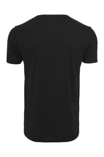 New York Wording nyomott mintás férfi póló