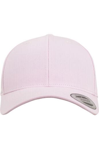 Klasszikus snapback hajlított napellenzővel, pink