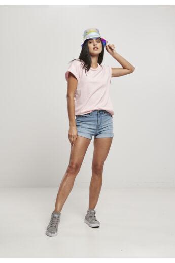 Pink női divatos póló