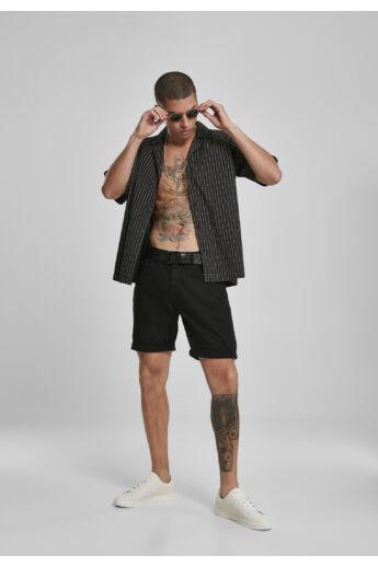 fuck you divatos fekete férfi ing