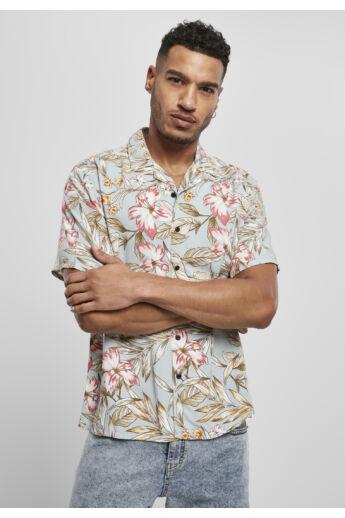 Hibiscus mintás nyári férfi ing