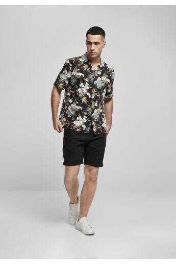 Virágmintás divatos férfi ing