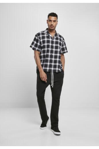 kockás férfi divat ing