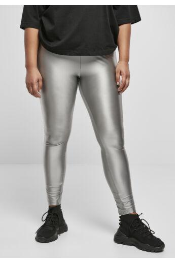 Metal színű leggings