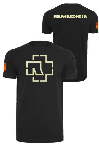 Rammstein fekete rövidujjú póló