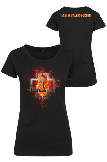 Rammstein rövidujjú női póló