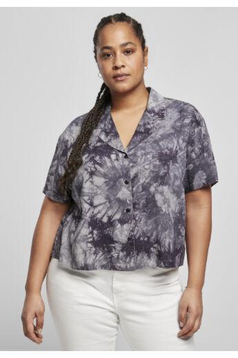 Női divatos mintás ing