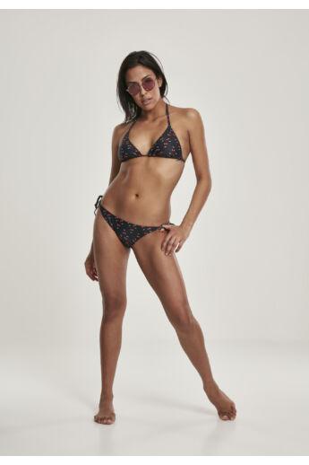 kétrészes női rüdőruha, bikini