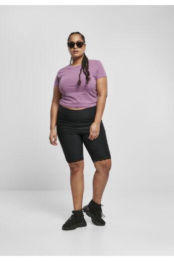 divatos női csipkés kerékpáros nadrág
