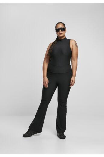 Női magas derékú bordázott nadrág