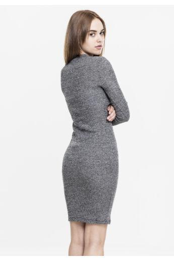 Szürke divatos női ruha