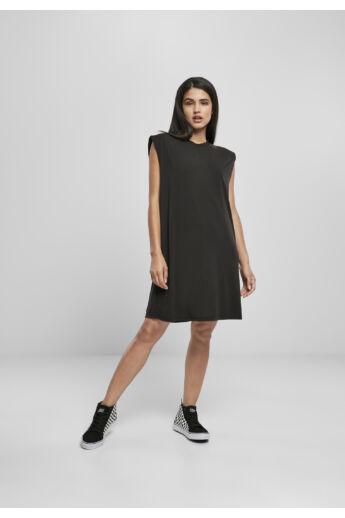 Divat női fekete ruha