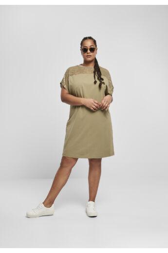 Női divatos csipkés póló ruha