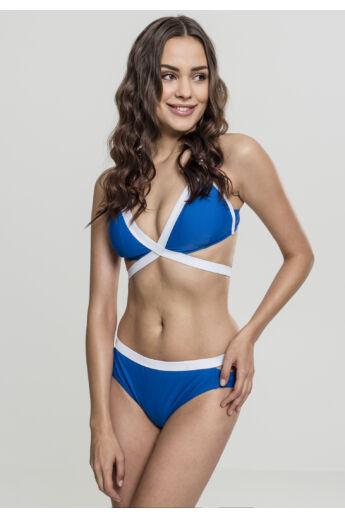 Kék női bikini