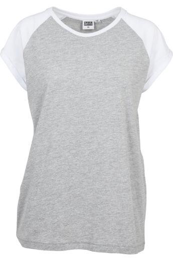 Divatos nőibaseball póló