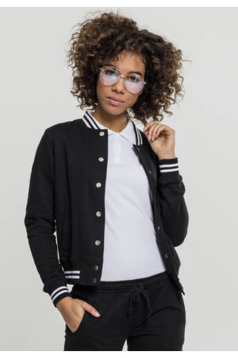 Női fekete dzseki