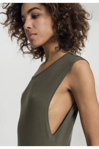 Női ruha oliva zöld