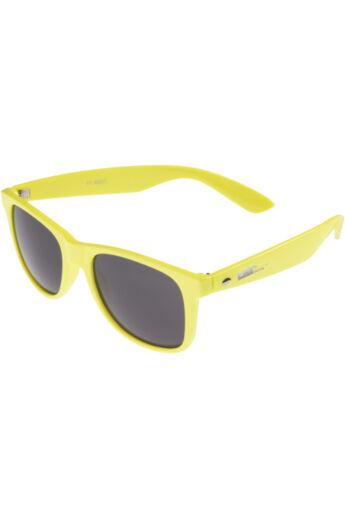 Neonsárga divatos napszemüveg