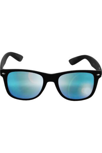 Divatos fekete-kék modern napszemüveg