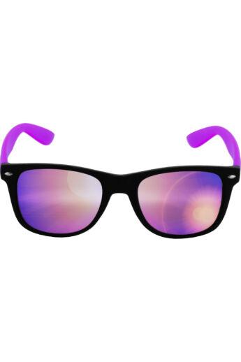 Fekete-lila divatos modern napszemüveg