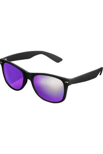 Divatos fekete-lila modern napszemüveg