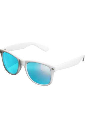 Divatos fehér-kék modern napszemüveg