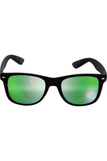 Divatos fekete-zöld modern napszemüveg