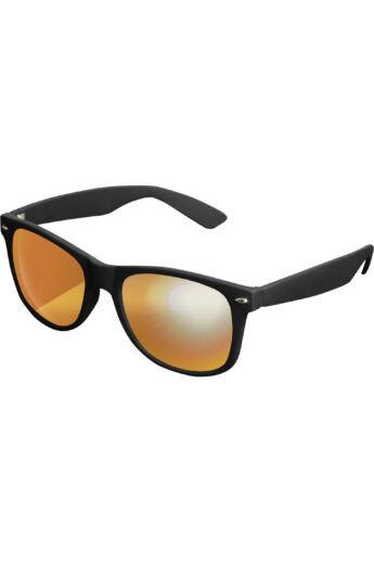 Fekete-piros divatos modern napszemüveg