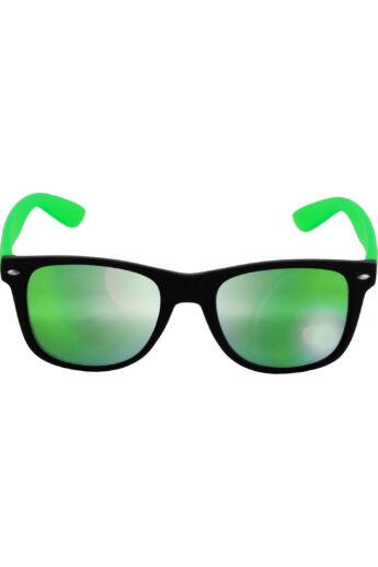 Divatos fekete-lime zöld modern napszemüveg