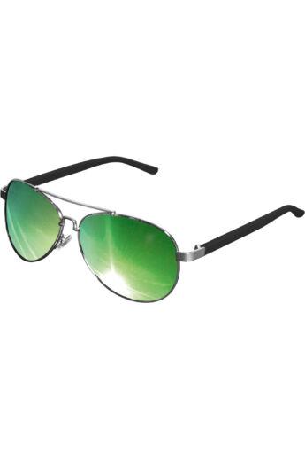 Divatos  ezüst-zöld napszemüveg