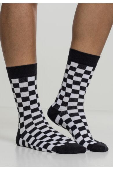kockás zokni
