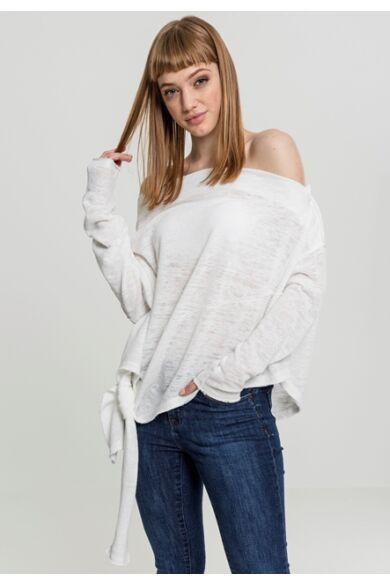 Női aszimmetrikus pulóver