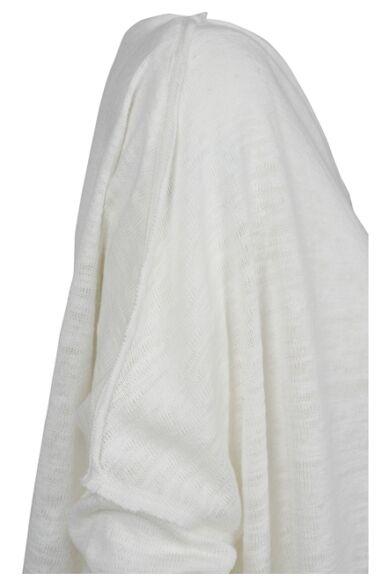 női asszimetrikus pulóver