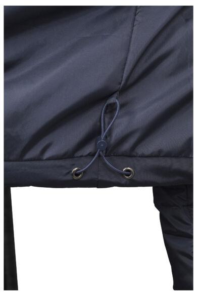 kék férfi pufi dzseki