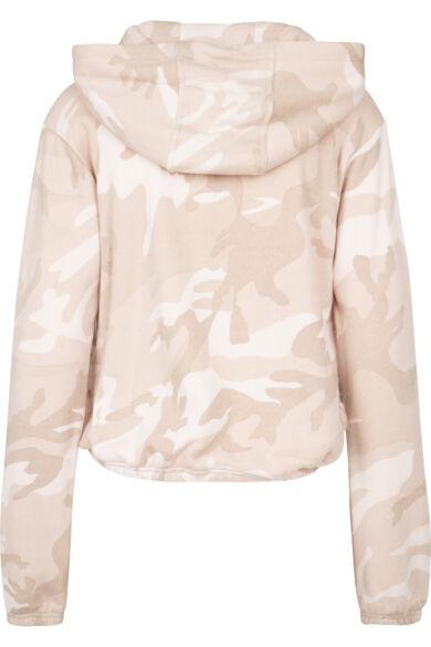 Terepmintás női pulóver