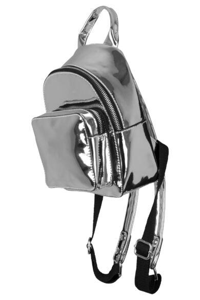 Ezüst színű hátizsák