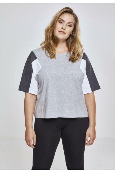 színes női rövid póló