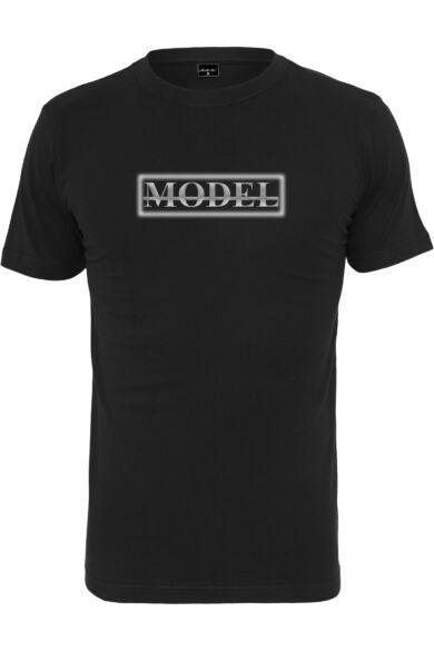 fekete uniszex póló