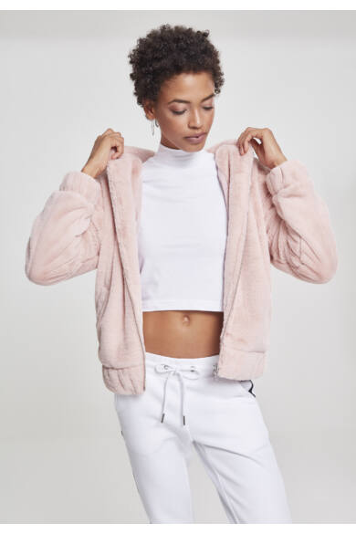 rózsaszín női dzseki