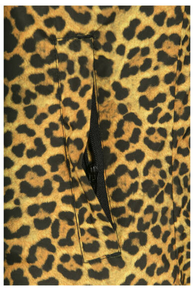 leopárd mintás női dzseki