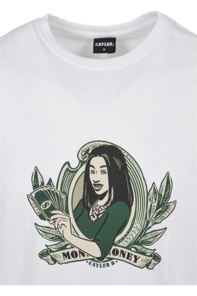 nyomott mintás divatos póló